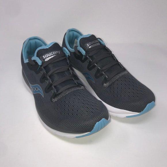 Saucony Women/'s Versafoam Flare S30034-3 Running Shoes Gray White Blue